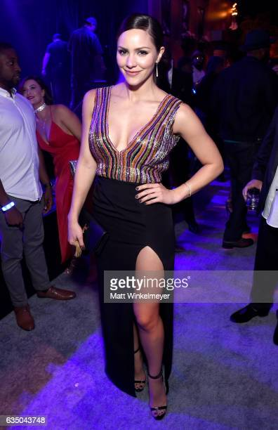 Actress Katharine McPhee attends the Warner Music Group GRAMMY Party at Milk Studios on February 12 2017 in Hollywood California
