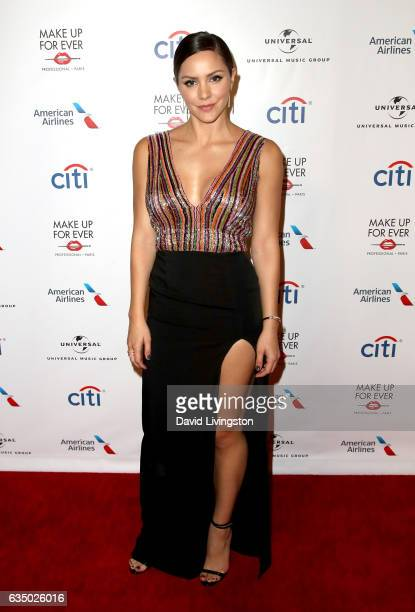 Actress Katharine McPhee attends Universal Music Group's 2017 GRAMMY after party at The Theatre at Ace Hotel on February 12 2017 in Los Angeles...