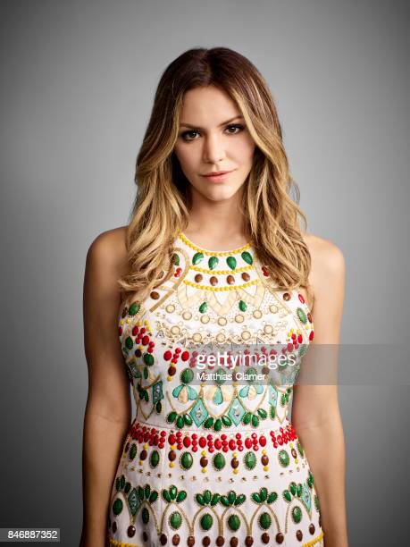 Actress Katharine McPhee from 'Scorpion' is photographed for Entertainment Weekly Magazine on July 21 2016 at Comic Con in the Hard Rock Hotel in San...