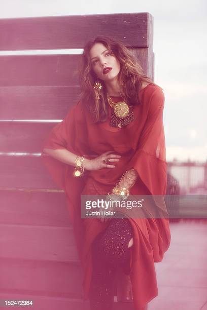 Actress Katharine McPhee is photographed for Nylon Magazine on July 29 2012 in New York City