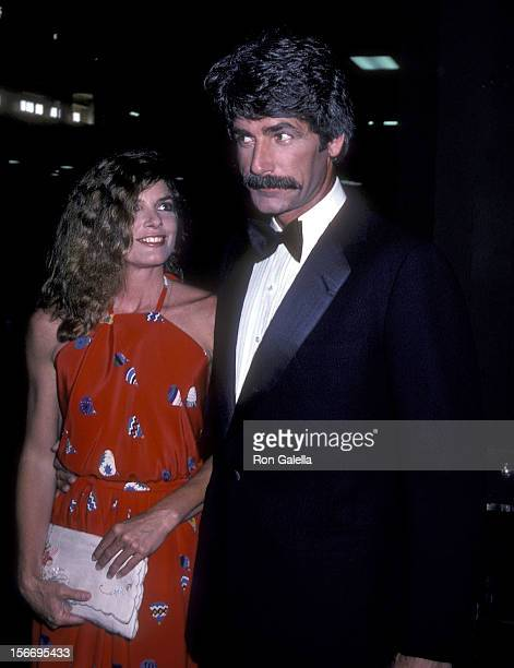 Actress Katharine Ross and actor Sam Elliott attend the 16th Annual Academy of Country Music Awards on April 30, 1981 at the Shrine Auditorium in Los...