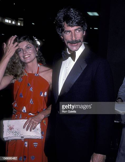 Actress Katharine Ross and actor Sam Elliott attend the 16th Annual Academy of Country Music Awards on April 30 1981 at the Shrine Auditorium in Los...