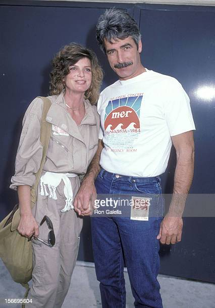 Actress Katharine Ross and actor Sam Elliott attend the Second Annual Benefit Concert for the Malibu Emergency Room on March 18 1984 at the Firestone...