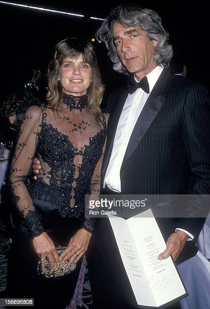 Actress Katharine Ross and actor Sam Elliott attend the Second Annual Monterey Film Festival Golden Cypress Award to James Stewart on February 21...