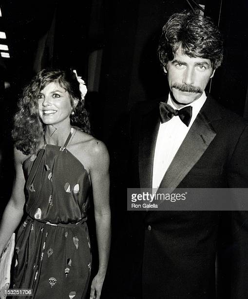 Actress Katharine Ross and actor Sam Elliott attending 16th Annual Academy of Country Music Awards on April 30 1981 at Shrine Auditorium in Los...