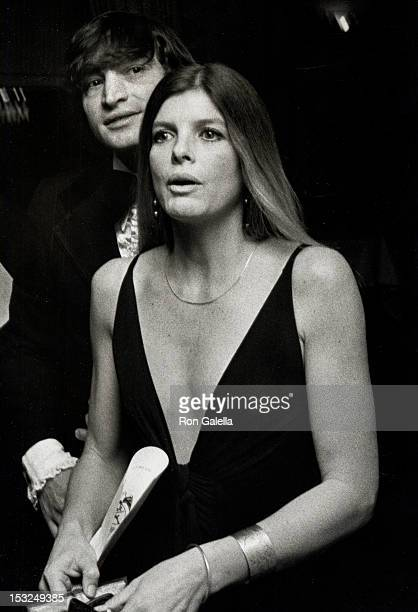 Actress Katharine Ross and date Tom Lisi attending the premiere party for Voyage of the Damned on December 18 1976 at the St Regis Roof in New York...