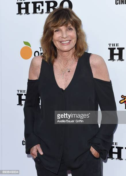 Actress Katharine Ross arrives at the Los Angeles premiere of 'The Hero' at the Egyptian Theatre on June 5 2017 in Hollywood California