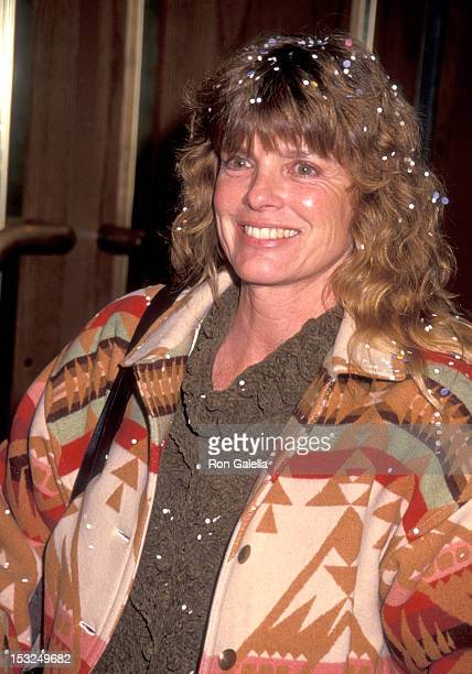 """Actress Katharine Ross attends the """"Moscow Circus Opening"""" on March 6, 1991 at Great Western Forum in Inglewood, California."""