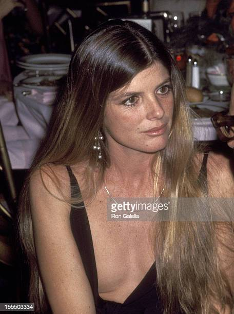 Actress Katharine Ross attends the Voyage of the Damned New York City Premiere Party on December 18 1976 at St Regis Hotel in New York City