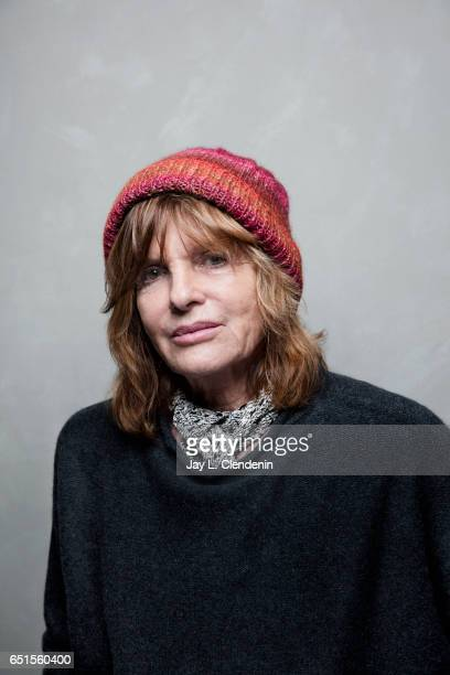 Actress Katharine Ross from the film The Hero is photographed at the 2017 Sundance Film Festival for Los Angeles Times on January 22 2017 in Park...
