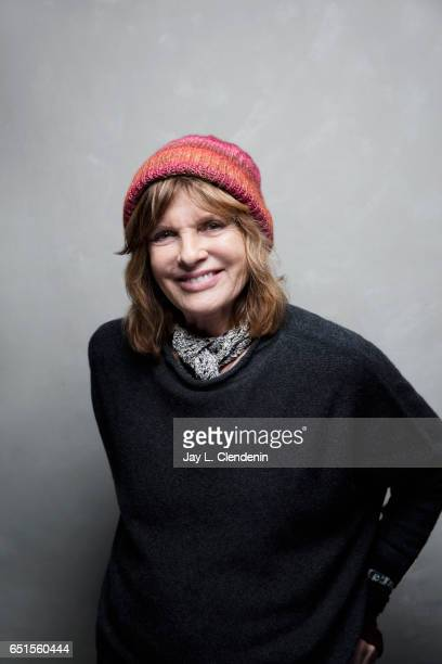 Actress Katharine Ross, from the film The Hero, is photographed at the 2017 Sundance Film Festival for Los Angeles Times on January 22, 2017 in Park...