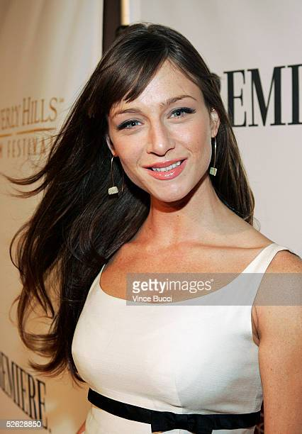 Actress Katharine Towne attends the afterparty for the 5th Annual International Beverly Hills Film Festival opening night at Luce on April 13 2005 in...