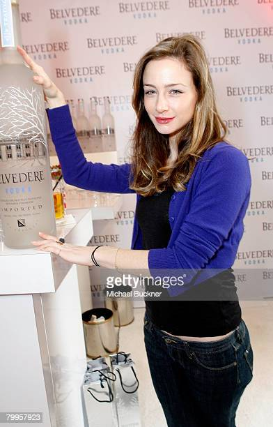 Actress Katharine Towne attends The Belvedere Luxury Lounge in honor of the 80th Academy Awards featuring Belvedere Vodka Best Picture Nomineethemed...