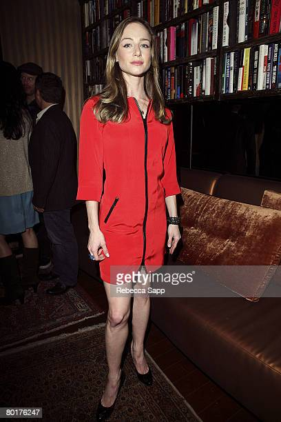 Actress Katharine Towne attends the Erin Fetherston Fashion Week KickOff Party at Villa on March 7 2008 in West Hollywood California