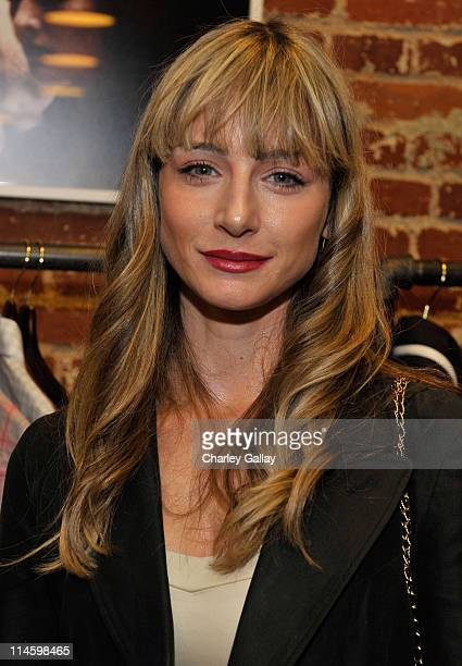 Actress Katharine Towne attends the GQ Michael Bastian and Bradley Cooper hosted launch party for 'Lifeguard On Duty' at Confederacy on May 12 2009...