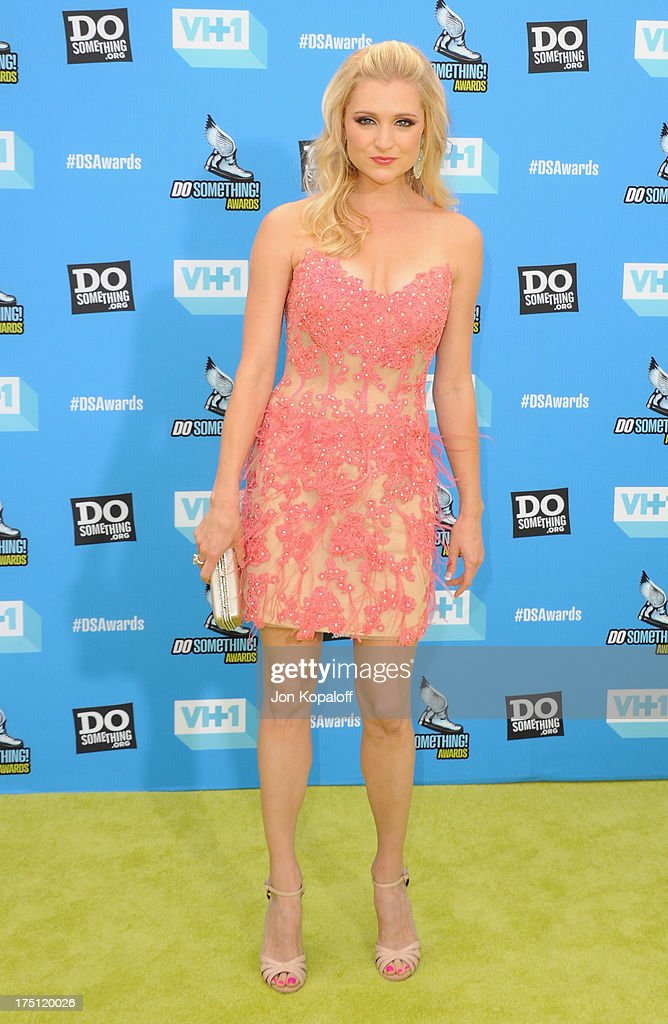 Actress Katherine Bailess arrives at the 2013 Do Something Awards at Avalon on July 31, 2013 in Hollywood, California.