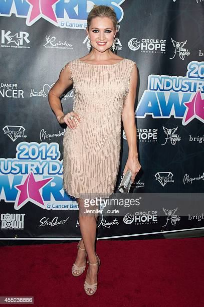 Actress Katherine Bailess arrives at the 2014 Industry Dance Awards Honoring Nigel Lythgoe at the Avalon on September 10 2014 in Hollywood California
