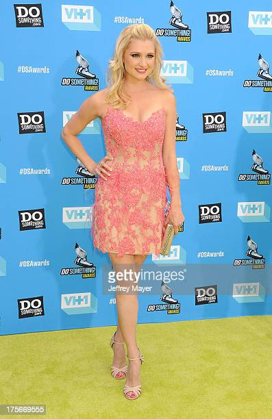 Actress Katherine Bailess arrives at the DoSomethingorg and VH1's 2013 Do Something Awards at Avalon on July 31 2013 in Hollywood California