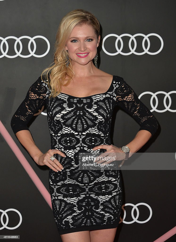 Actress Katherine Bailess arrives to Audi Celebrates Golden Globes Weekend at Cecconi's Restaurant on January 9, 2014 in Los Angeles, California.