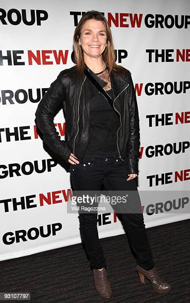 Actress Katherine Erbe attends The Starry Messenger cast party at Montenapo Restaurant on November 16 2009 in New York City