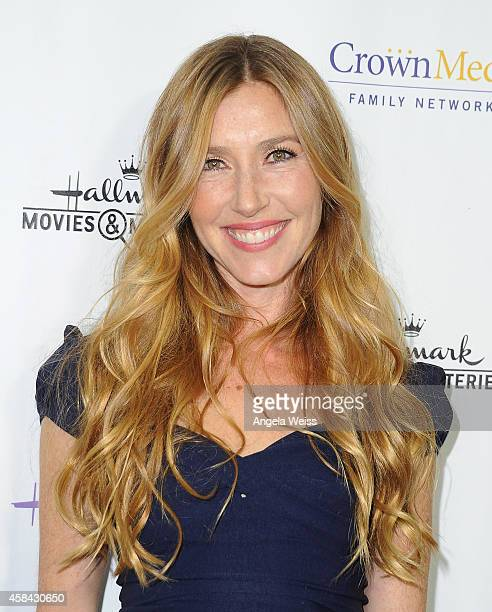 Actress Katherine Flynn arrives at Hallmark Channel's annual holiday event premiere screening of Northpole at La Piazza Restaurant on November 4 2014...
