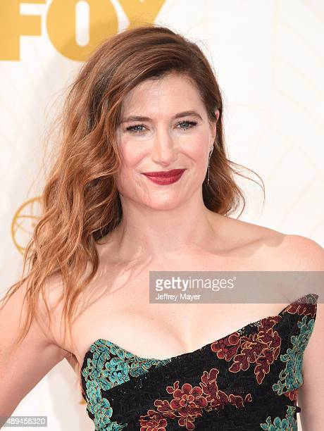 Actress Katherine Hahn attends the 67th Annual Primetime Emmy Awards at Microsoft Theater on September 20 2015 in Los Angeles California