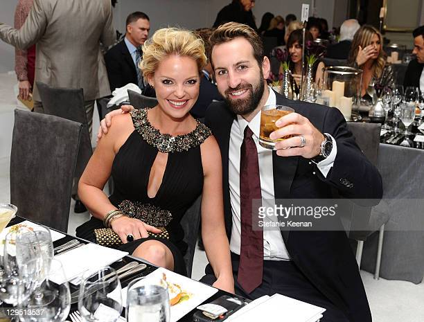 Actress Katherine Heigl and her husband musician Josh Kelley attend ELLE's 18th Annual Women in Hollywood Tribute held at the Four Seasons Hotel Los...