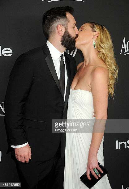 Actress Katherine Heigl and husband Josh Kelley arrive at the 16th Annual Warner Bros And InStyle PostGolden Globe Party at The Beverly Hilton Hotel...