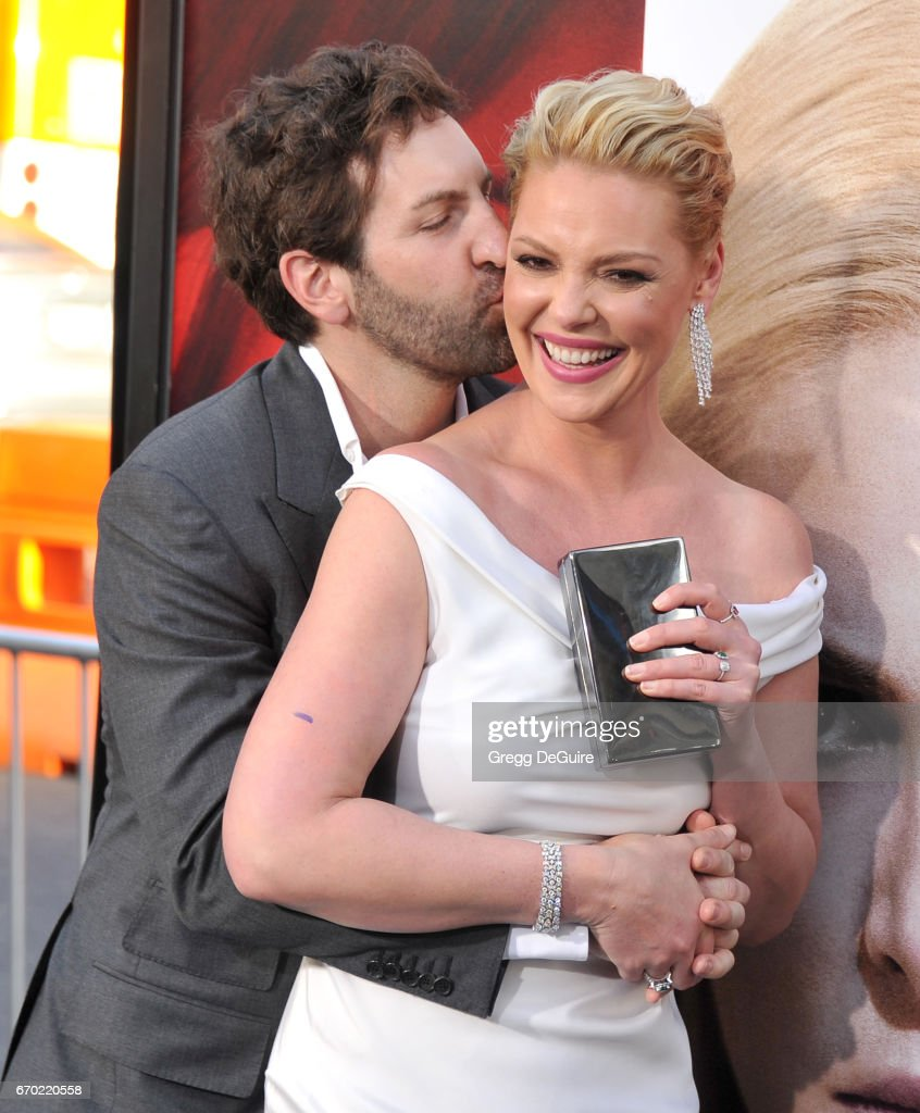 Actress Katherine Heigl and husband Josh Kelley arrive at the premiere of Warner Bros. Pictures' 'Unforgettable' at TCL Chinese Theatre on April 18, 2017 in Hollywood, California.