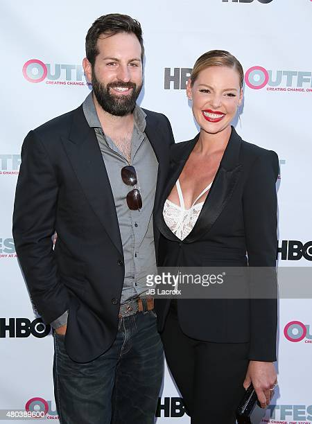 Actress Katherine Heigl and Josh Kelley attend the Premiere of IFC's 'Jenny's Wedding' at 2015 Outfest Los Angeles LGBT Film Festival at Director's...