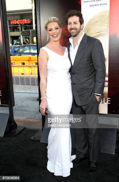 Actress Katherine Heigl and Josh Kelley attend the premiere of Warner Bros Pictures' 'Unforgettable' at TCL Chinese Theatre on April 18 2017 in...