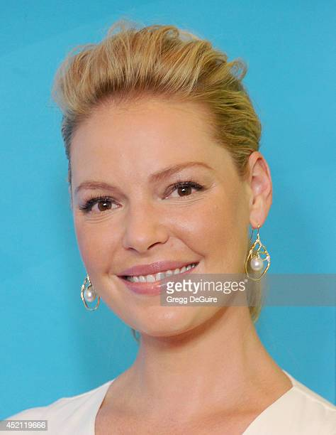 Actress Katherine Heigl arrives at the 2014 Television Critics Association Summer Press Tour NBCUniversal Day 1 at The Beverly Hilton Hotel on July...
