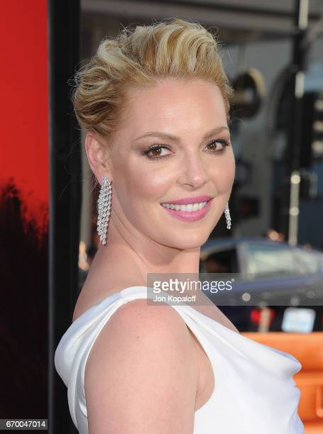 "Actress Katherine Heigl arrives at the Los Angeles Premiere ""Unforgettable"" at TCL Chinese Theatre on April 18, 2017 in Hollywood, California."