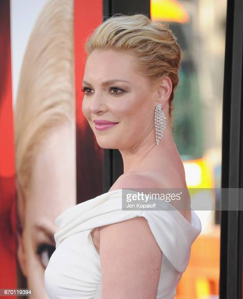 """Actress Katherine Heigl arrives at the Los Angeles Premiere """"Unforgettable"""" at TCL Chinese Theatre on April 18, 2017 in Hollywood, California."""