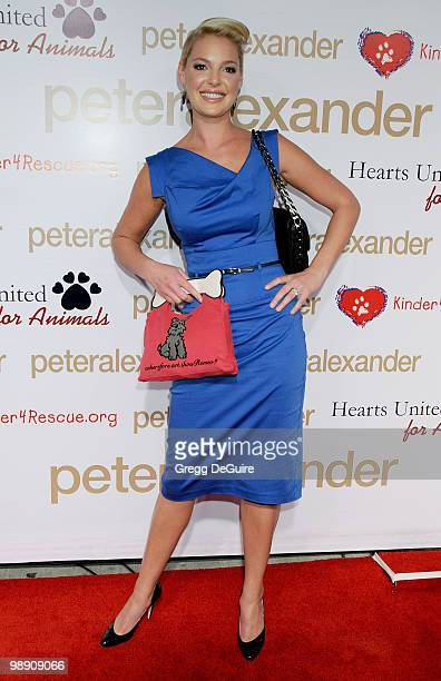 Actress Katherine Heigl arrives at the Peter Alexander Flagship Boutique Grand Opening And Benefit on October 22 2008 in Los Angeles California