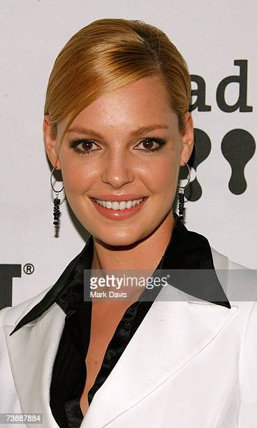 Actress Katherine Heigl arrives to the 18th Annual GLAAD Media Awards at the Kodak Theatre on April 14 2007 in Los Angeles California