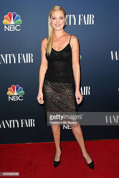 Actress Katherine Heigl attends NBC Vanity Fair's 20142015 TV Season Event at HYDE Sunset Kitchen Cocktails on September 16 2014 in West Hollywood...