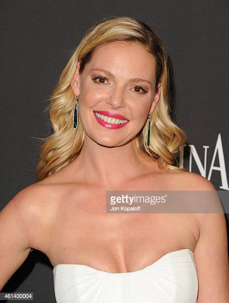Actress Katherine Heigl attends the 16th Annual Warner Bros and InStyle PostGolden Globe Party at The Beverly Hilton Hotel on January 11 2015 in...