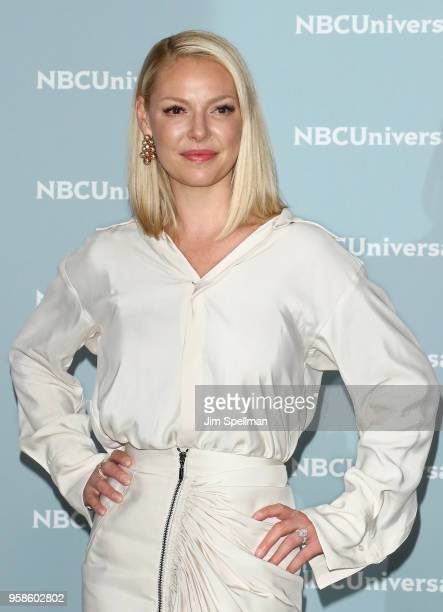 Actress Katherine Heigl attends the 2018 NBCUniversal Upfront presentation at Rockefeller Center on May 14, 2018 in New York City.