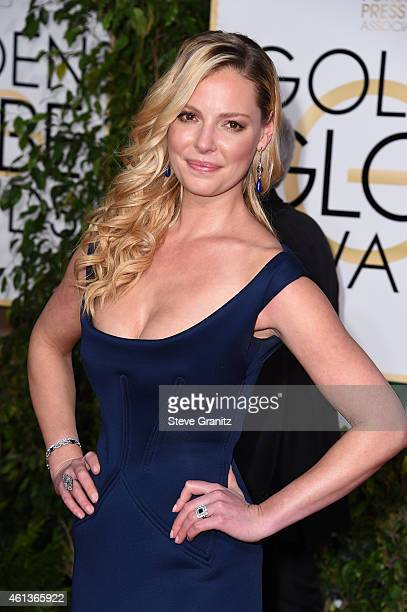 Actress Katherine Heigl attends the 72nd Annual Golden Globe Awards at The Beverly Hilton Hotel on January 11, 2015 in Beverly Hills, California.