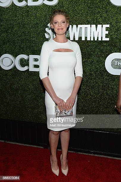 Actress Katherine Heigl attends the CBS CW Showtime Summer TCA Party at Pacific Design Center on August 10 2016 in West Hollywood California