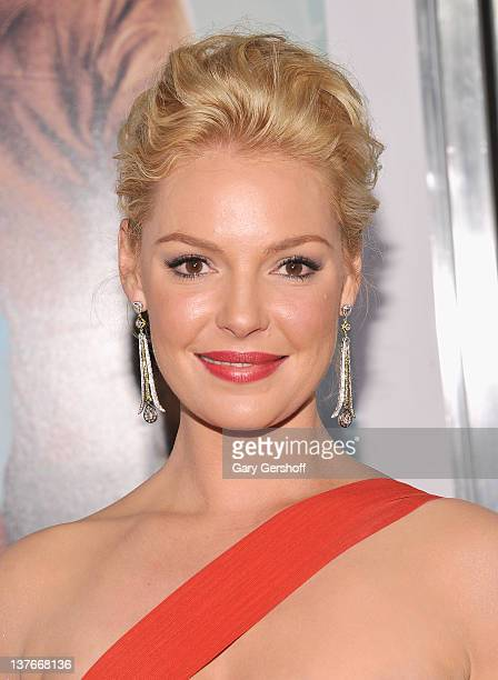 Actress Katherine Heigl attends the 'One for the Money' premiere at the AMC Loews Lincoln Square on January 24 2012 in New York City