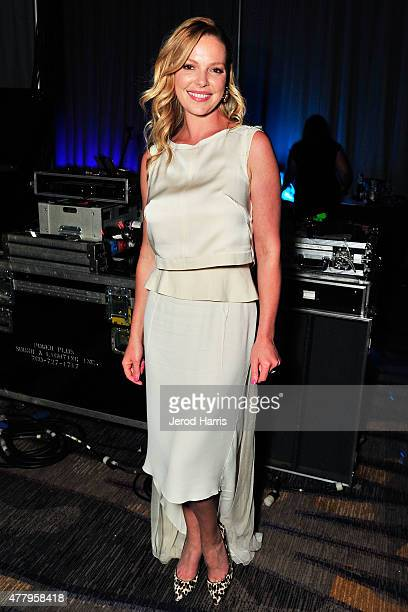 Actress Katherine Heigl attends the PETCO Foundation Gala at the Manchester Grand Hyatt on June 20 2015 in San Diego California