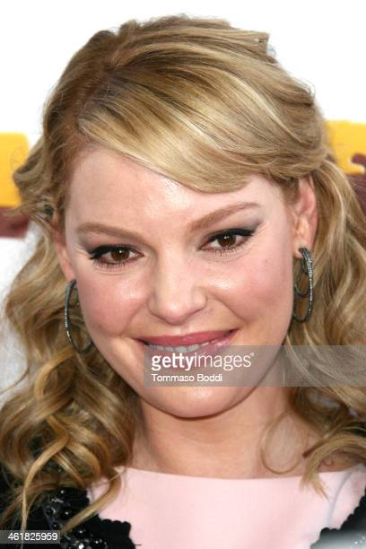 "Actress Katherine Heigl attends the premiere of Open Road Films' ""The Nut Job"" held at the Regal Cinemas L.A. Live on January 11, 2014 in Los..."