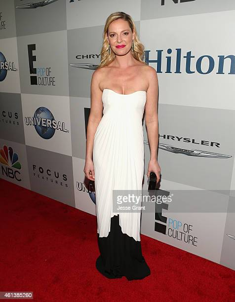 Actress Katherine Heigl attends Universal NBC Focus Features and E Entertainment 2015 Golden Globe Awards After Party sponsored by Chrysler and...