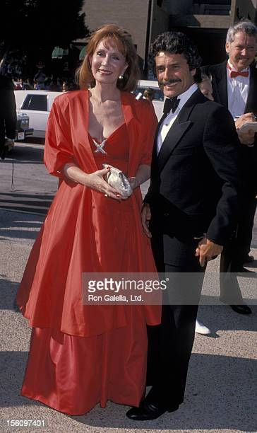 Actress Katherine Helmond and artist David Christian attending 41st Annual Primetime Emmy Awards on September 17 1989 at the Pasadena Civic...