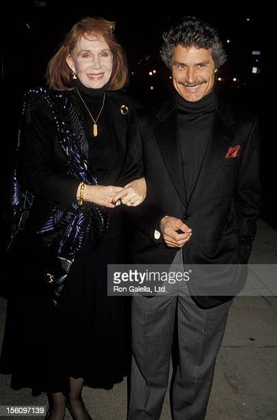 Actress Katherine Helmond and artist David Christian attending a performance of 'Cyrano de Bergerac' on November 6 1990 at the Royal Theater in...
