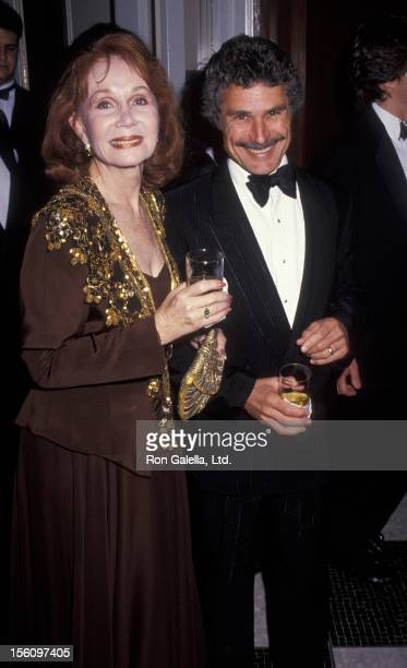 Actress Katherine Helmond and artist David Christian attending 'Friars Club Tribute Dinner Honoring Clive Davis' on June 16 1992 at the Waldorf Hotel...