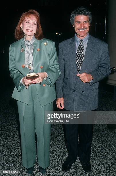Actress Katherine Helmond and artist David Christian attending 'Gala Honoring Ella Fitzgerald' on April 10 1993 at the Beverly Wilshire Hotel in...