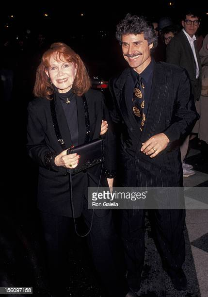 Actress Katherine Helmond and artist David Christian attending 'Aristia Records PreGrammy Party' on February 24 1992 at the Plaza Hotel in New York...